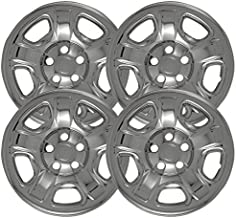 16 inch Chrome Wheel Skins (Set of 4) For 02 03 04 05 06 07 Jeep Liberty