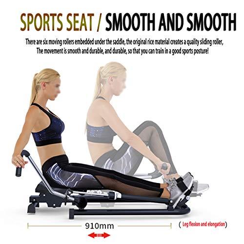 NXX Sports Rudermaschine: Rudergerät Mit Trainingscomputer, Schlagzähler
