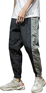 ZhixiaYS Men's Fashion Overalls Pants Casual Pure Colour Comfortable Trousers Sport Pants