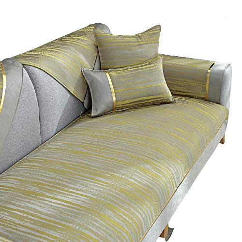 Four Seasons Fundas de sofá universales Antideslizantes en Forma de L Funda de sofá Antideslizante para sofá de Cuero,Funda de sofá,Fundas de sofá,A,90X160cm