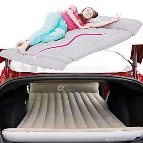 Topfit Auto Camping Luftmatratze Auto Travel Aufblasbare Matratze Universal für alle SUV Autos und Customized für Tesla Model S und Model X 5 Seat und Model 3