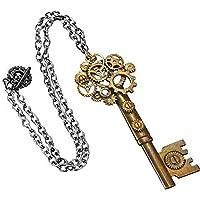 Steampunk Large Key Antique Necklace Adult スチームパンク大きな鍵アンティークネックレス大人用♪ハロウィン♪サイズ:One-Size [並行輸入品]