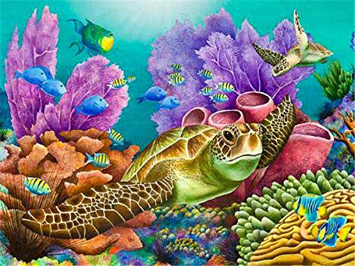 Wooden Jigsaw Puzzles 3000 Pieces for Adults for Kids and Family with Challenge and -Beautiful Animal-Softclick Technology Means Pieces Fit Together Perfectly