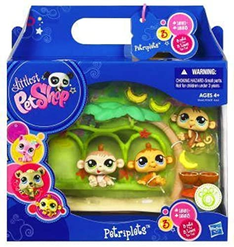 Littlest Pet Shop Pet Triplets - Monkeys by Hasbro