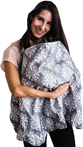 Nursing Cover, Baby Breastfeeding Apron and Wide Privacy Feeding Hider for Moms