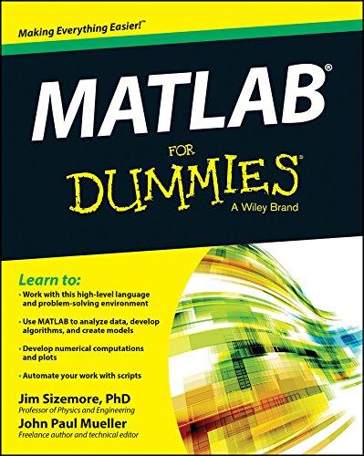 MATLAB For Dummies (English Edition)