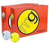 MG Golf Balls Senior Longest with Speed, Distance, & Maximum Enjoyment (1-Dozen)