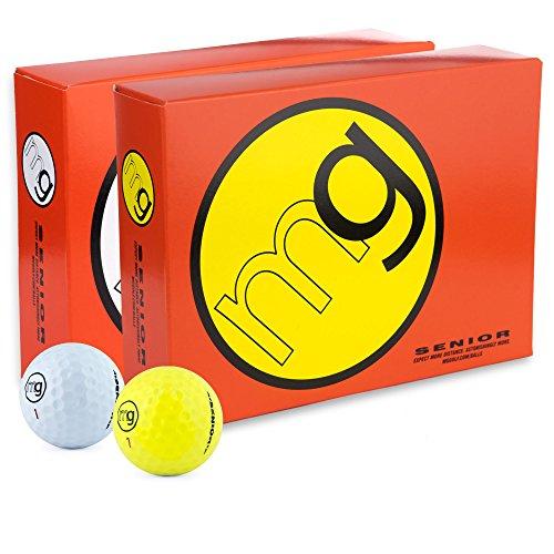MG Golf Balls Senior Longest with Speed, Distance, & Maximum...