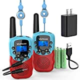 Best Walkie Talkies For Kids - Wishouse Kids Walkie Talkies Rechargeable with Charger Battery Review