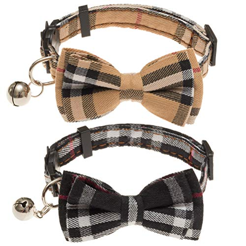Top 10 cat collar breakaway with bell and bow for 2020