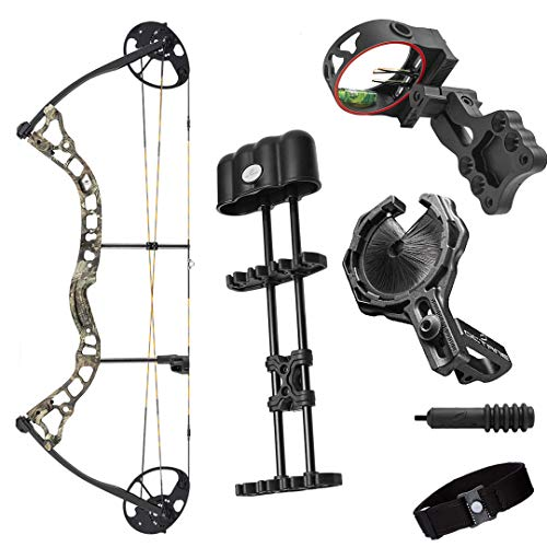 Archery 2021 Diamond Infinite 305 | Breakup Country | RH 7-70 LBS | Compound Bow Package | Draw Length 19-31' | Fully Adjustable