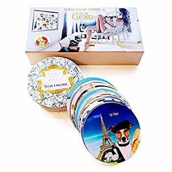 """Dreambox"""" Vision Board Cards – Law of Attraction Starter Kit – 100 Dream Board Photos to Stick Anywhere – Women's Goals & Manifestation Planner Supplies"""