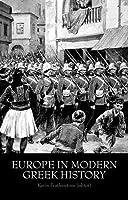 Europe in Modern Greek History by Unknown(2014-10-01)
