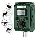 AUTSCA Agente-Controlador ultrasónico con LED, Verde La radiación Unidades de luz Ultravioleta (UV) Repeler plaguicidas