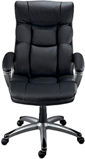 Staples 69022 Burlston Luxura Faux Leather Manager Chair Black (24810)