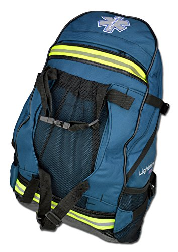 Lightning X EMS Special Events First Aid EMT First Responder Trauma Backpack BLS Bag - Navy Blue