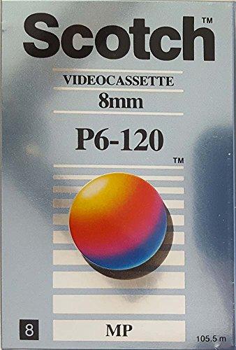 Sale!! Scotch Video Cassette, 8mm, P6-120 MP, Metal Particle