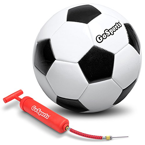 GoSports - Pelota de fútbol clásica con Bomba de Calidad (Elegir Entre los tamaños 3, 4 o 5), Soccer, Talla 3