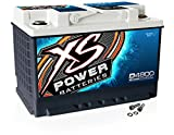 XS Power D4800 12V BCI Group 48 AGM Battery (Max Amps 3,000A, CA: 815 Ah: 60, 2000W / 3000W)