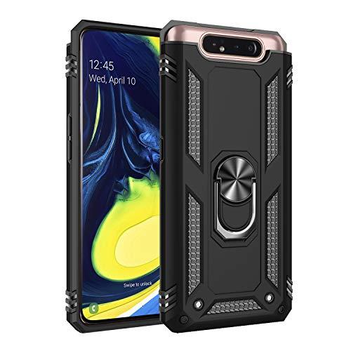 AFARER Hülle Kompatibel Mit Samsung Galaxy A80/Samsung Galaxy A90 Militärische Handyhülle Schwarz