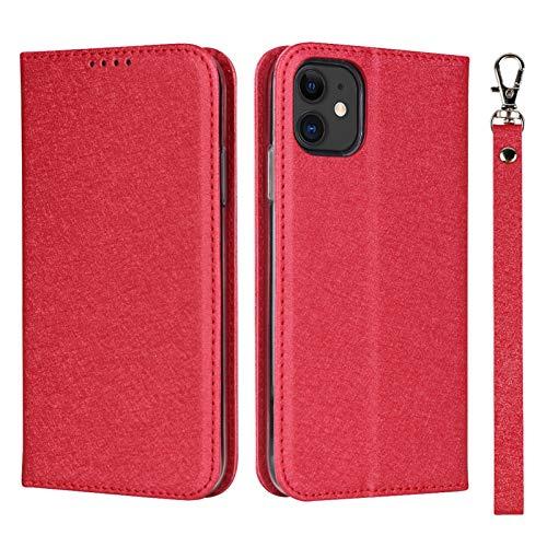 Compatible para iPhone 12 Pro Max Funda tipo billetera con soporte para tarjetas Soporte de cuero PU Correa de muñeca protectora a prueba de golpes, Funda con tapa tipo folio para iPhone 12 Pro Max