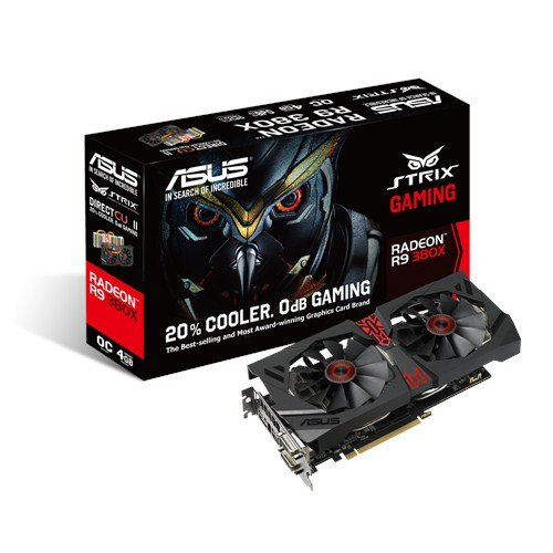 ASUS R9 380X OC Gaming 4GB GDDR5 DVI DVI-D HDMI PC