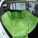 Hamaca de coche para perros, doble capa de 1,2 kg, impermeable, protector trasero para mascotas (apto para perros grandes)