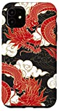 iPhone 11 Red Chinese Dragon Case
