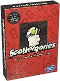 Hasbro C1941 Scattergories- Juego de categorías de Pensamiento rápido - Don't Let The Time Run out- Juegos de Palabras - A Partir de 12 años, Rojo, Blanco