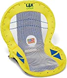 Stadium Lacrosse Chair-Game Chair- bleacher seat Back Support -Ultra Padded Cushion - Backpack Straps - Reclining Positions -Unique Gift- Beach Chair - Portable