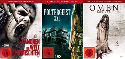 20 Horrorfilme – Poltergeister – Dämonen und böse Omen – Halloween DVD Limited Edition