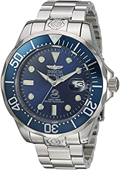 Invicta Men s  Pro Diver  Automatic Stainless Steel Diving Watch Silver-Toned  16036