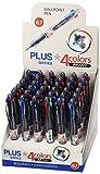 Plus Office Mini - 4-farbiger Kugelschreiber, 36 Stück.