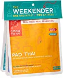 GOOD TO-GO Weekender 3-Pack Variety #2   2 Entrees + 1 Breakfast   Pad Thai, Granola, Indian Vegetable Korma   Dehydrated Backpacking and Camping Food   Gift Ideas   Easy to Prepare