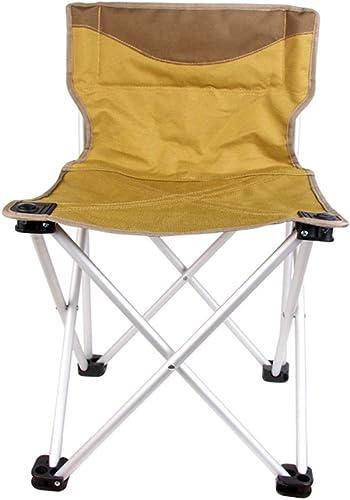 HYXI-Chaise Pliante Chaise Pliante extérieure, portable, Chaise de Camping de pêche de Randonneur de Plage Tabouret Mazar Trois Tailles Charge maximale 150 kg
