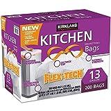 Kirkland Signature XL Cordón Cocina Bolsas de basura–Pack de 200