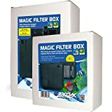 Prodac Filtro interior con materiales filtrantes para acuario dulce marino 19,1 x 29,4 x 9,3 cm