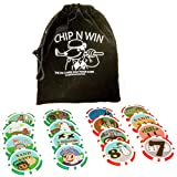 Dexter Innovations CHIP N WIN: THE ON COURSE GOLF POKER CHIPS GAME: Amazing