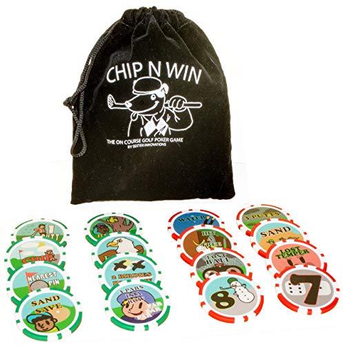 Dexter Innovations Chip n Win: The On Course Golf Poker Chips Spiel: Erstaunlicher Spaß, der Sie bis zum Ende spielt.