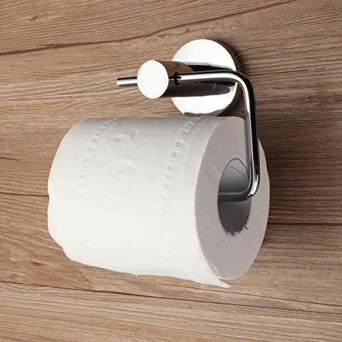 AISHIPING Soporte de Papel higiénico de Acero Inoxidable Pulido Cromado para Papel higiénico Gancho Simple Moderno Toallero de Tela montado en la Pared Nuevo