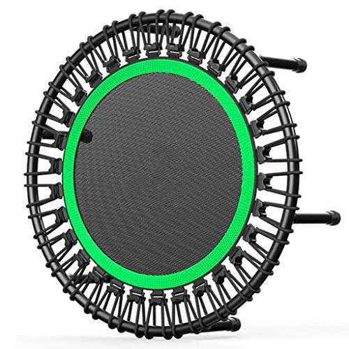 CZLWZZD trampoline for adults 40' Mini Round Trampoline Aerobic Bouncer Rebounder Indoor Outdoor Fitness Jumper