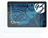 Bruni Schutzfolie kompatibel mit Trekstor SurfTab Y10 Folie, glasklare Bildschirmschutzfolie (2X)