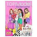 Depesche 10958 Stickerworld Malbuch, TOPModel, ca. 25 x 33 x 0,5 cm