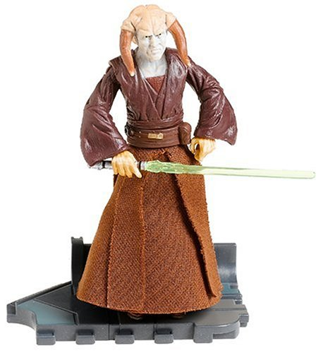 Star Wars Episode III 3 Revenge of the Sith SAESEE TIIN Jedi Master Figure #30 by Hasbro