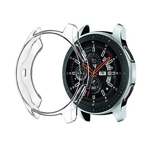 UKCOCO 3pcs Samsung Galaxy (46mm / 42mm) Uhr Allround Transparent Frame Schutzhülle (46mm)