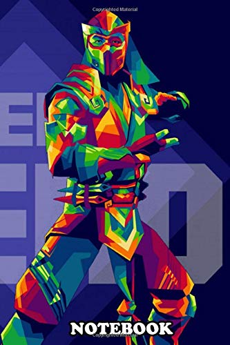 Notebook: Character From Mortal Kombat 11 In Wpap , Journal for Writing, College Ruled Size 6