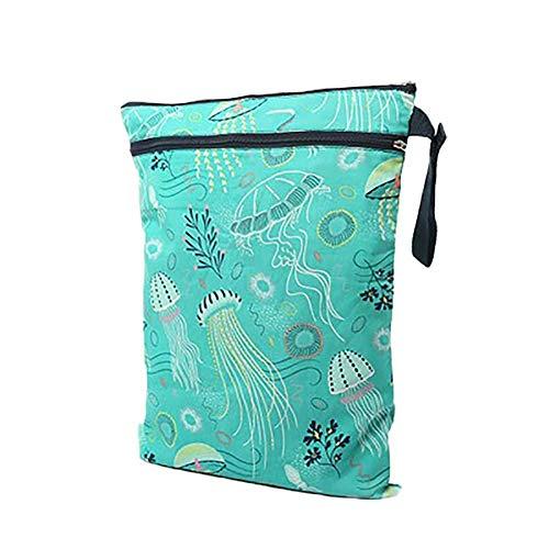Depory Dry Bag pacchetto Wet per pannolini di stoffa pannolino Bag Daycare sacchetto dell'organizzatore