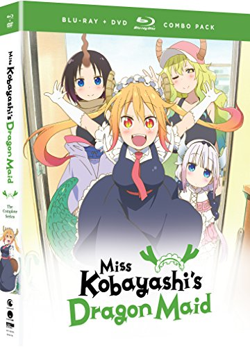 Miss Kobayashi's Dragon Maid: The Complete Series - Blu-ray + DVD