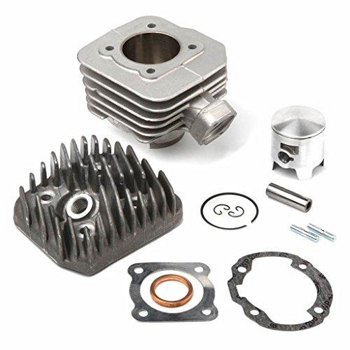 Kit de aslosi/ón de pist/ón 1110-030-2002 para STIHL Motosierra 041 Ring Set Clip 041 FB G AV bore 44MM Motor Engine Engine Pin