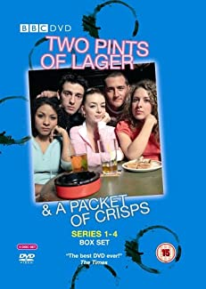 Two Pints Of Lager & A Packet Of Crisps - Series 1-4 Box Set